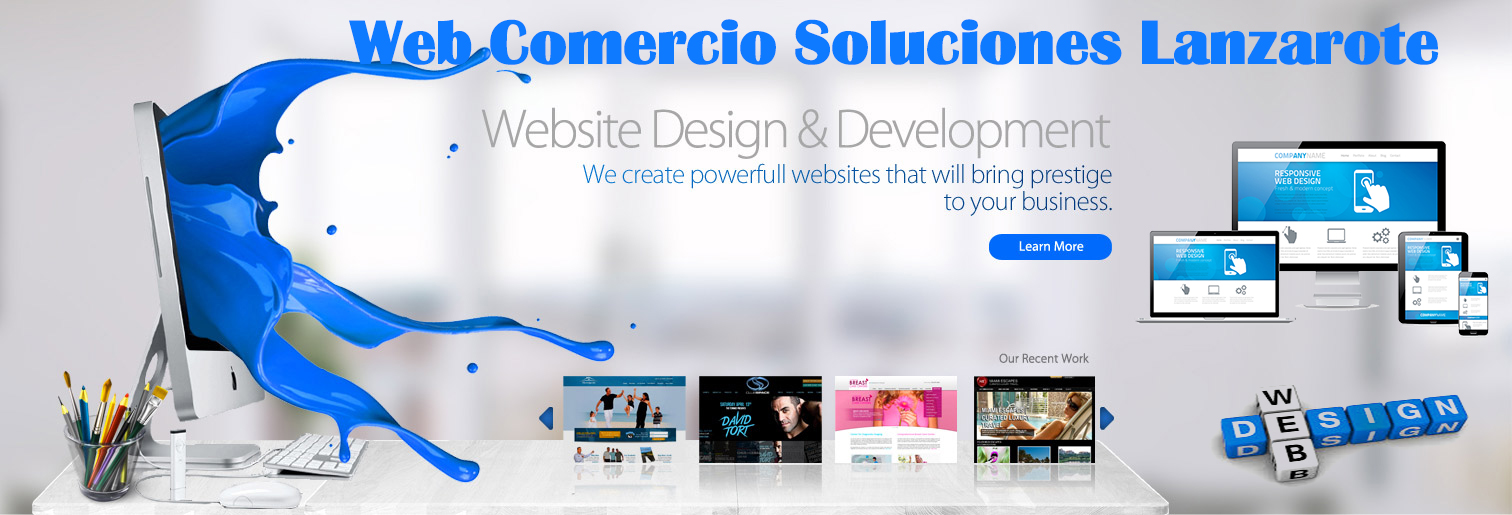 Web Design Spain - Web Development Spain - eCommerce Spain - SEO Spain