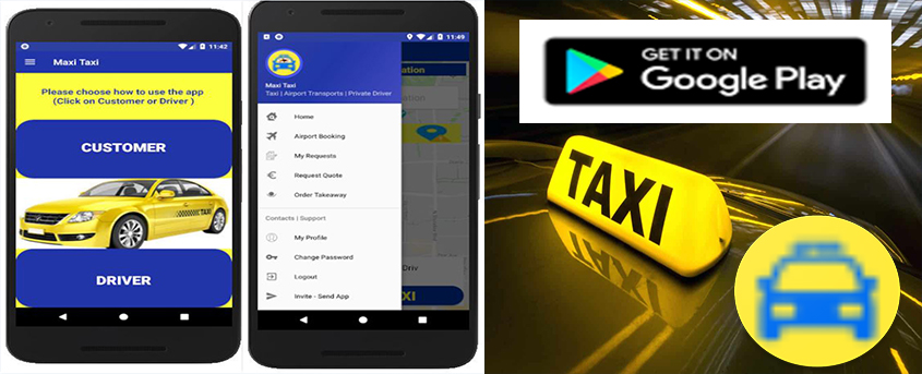 Taxi Gran Canary App - Taxi Services Gran Canary - Airport Transfers Gran Canary